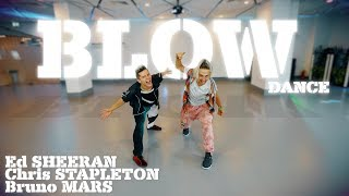 Ed Sheeran - BLOW (with Chris Stapleton & Bruno Mars) dance - Patman Crew Choreography