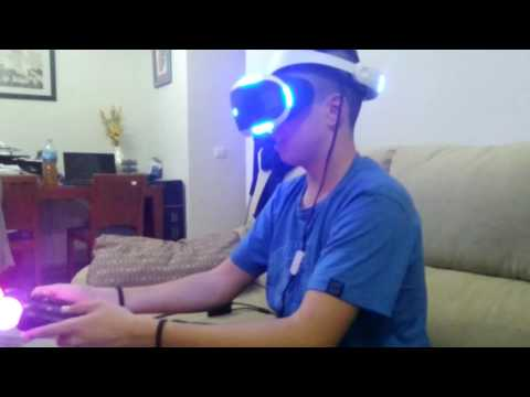 PRUEBO LA REALIDAD VIRTUAL DE PS4!!! // PLAY STATION VR // ESTO ES LA PO***!!!