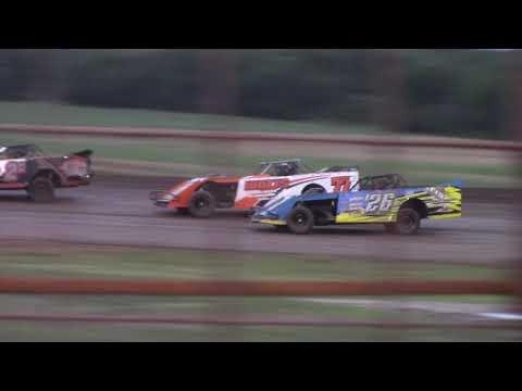 Salina Speedway *Mel Hamilton Ford* IMCA N. SportMods 7-5-19 (Heats & Feature)