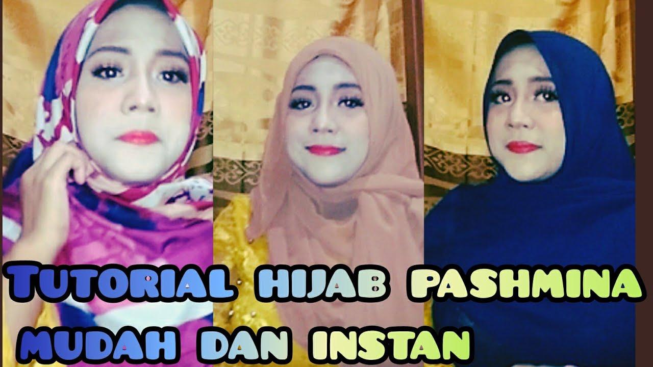 Tutorial Hijab Pashmina Instan Hijab Segiempat Youtube