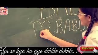 Sochta hoon ke vo kitne masoom the l New school LOVE story Whatsapp Status heart touching videos