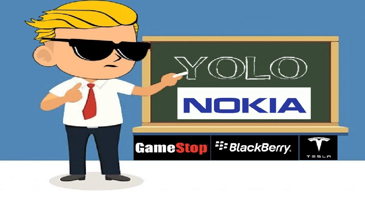 WallStreetBets GameStop, BlackBerry, Nokia and More Robinhood Option Plays | Ep.4
