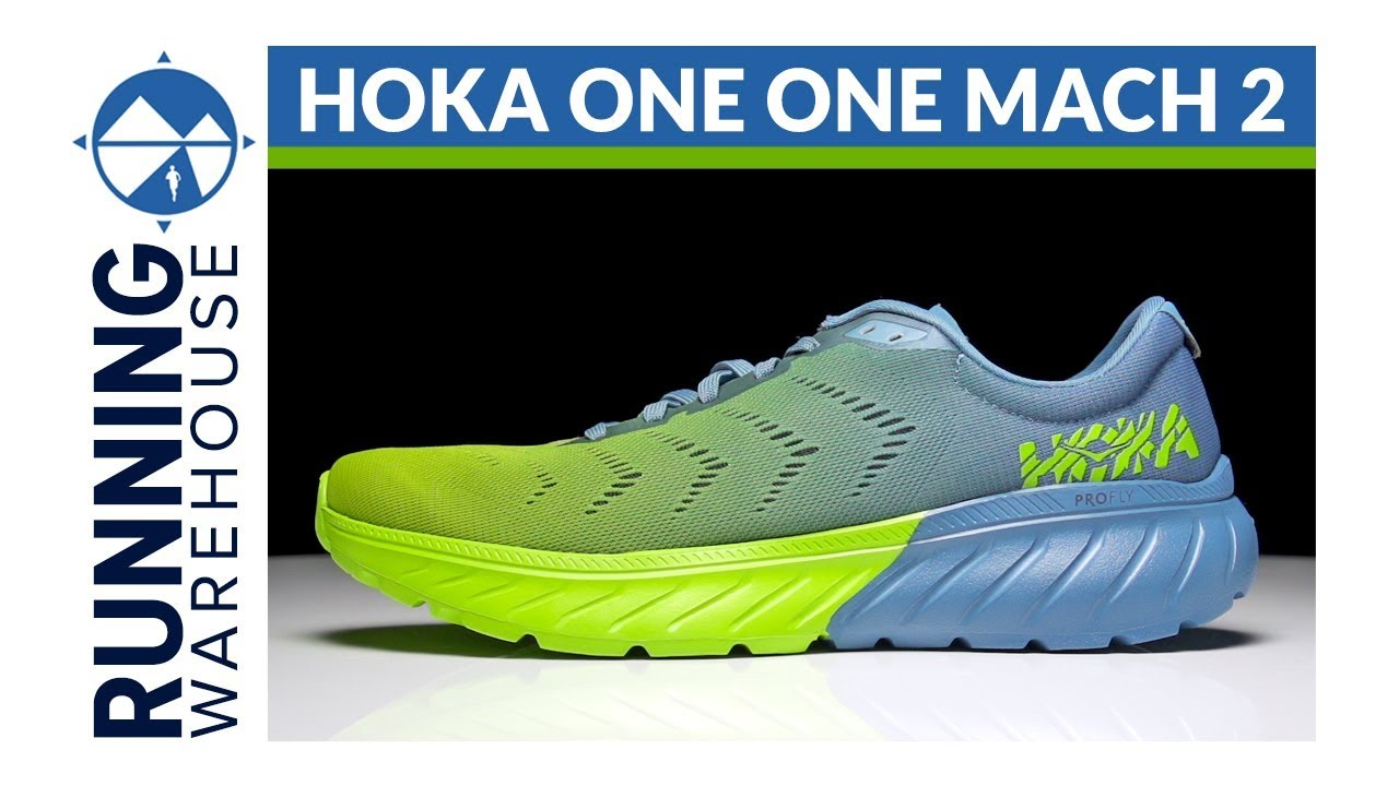 HOKA ONE ONE Mach 2 First Look Review. Running Warehouse 70f5c7faca3
