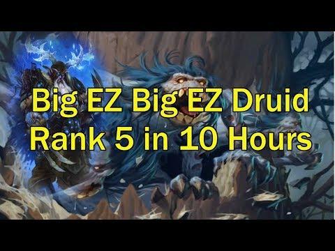 Ladder Decks For Average Chaps #1 - Big EZ Big EZ [Hearthstone KFT]