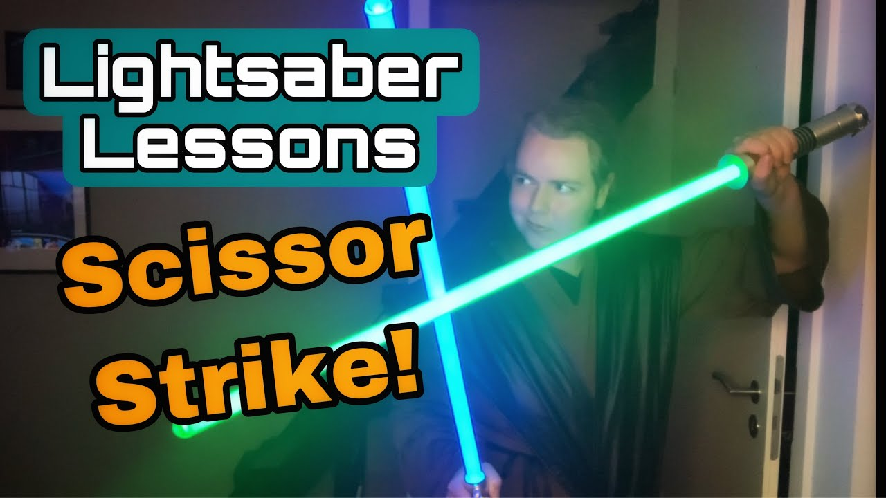 Lightsaber lessons: The Scissor strike (Dual wielding tutorial)