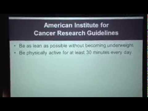 Weight Management & Nutrition Before, During and After Cancer Treatment