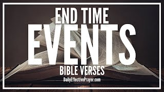 Bible Verses On End Time Events - Scriptures For End Of Days (Audio Bible) Video
