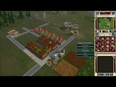 Caesar IV - Basic City Setup and making money