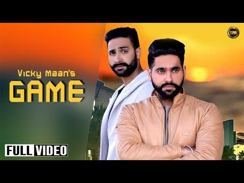 GAME || Vicky Maan || feat Harman Maan || YAAR ANMULLE RECORDS || Latest Punjabi SONG 2017 ||