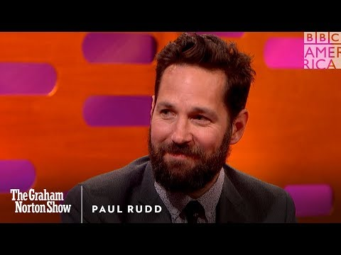 Paul Rudd Has Always Been Beautiful - The Graham Norton Show