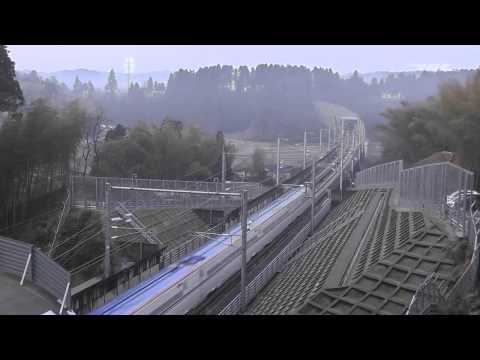 新幹線が金沢まで伸びた。