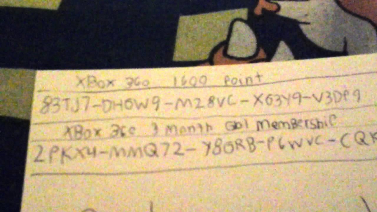 <b>Xbox 360 redeem code</b> 1 - YouTube