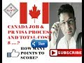 CANADA JOB  & PR VISA PROCESS AND TOTAL COST $ - HINDI