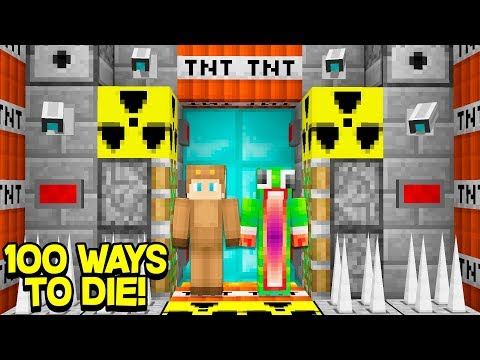100 WAYS TO DIE IN MINECRAFT! (FT. UnspeakableGaming & MooseCraft)