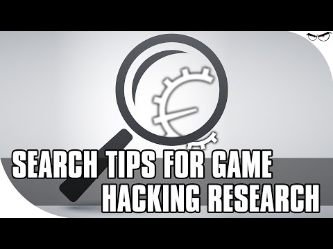 Search Tips For Game Hacking Research (Cheat Engine Forum Via Google, Etc.)