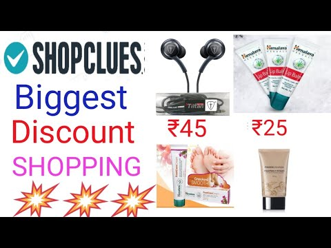 ShopClues loot offer🔥🔥|| Earphone ₹45 + more items loot || Free Online Shopping