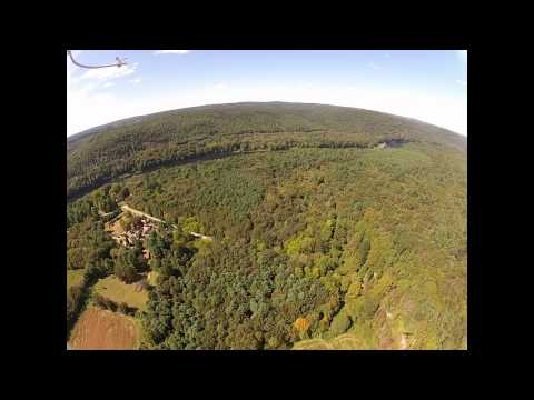 GoPro Aerial Video - Aerial Tour Northwestern New Jersey Pennsylvania - September 16, 2012
