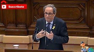 Quim Torra critica a los ministros de Sánchez y considera a Borrell una pésima noticia