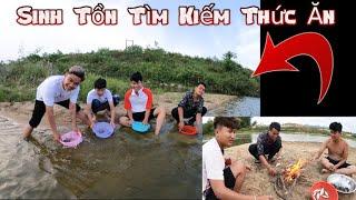 NVL   Sinh Tồn Trên Con Sông   Dùng Rổ Đãi Hến Ăn