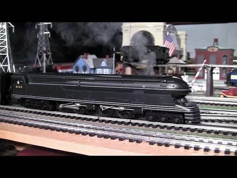 MTH Premier PRR S1 6446 OGauge Steam Locomotive in