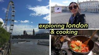 Menjelajahi London, Masak Sup Sayuran, & Mencoba Snack Inggris