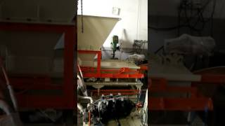 Idle Run Test of Automatic Fly Ash Bricks Machine at ENDEAVOUR-i Factory