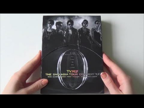 Unboxing TVXQ! 동방신기 The 2nd Asia Tour Concert 'O' Live DVD