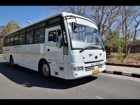 Eicher Skyline Executive on duty NPCIL Kakrapar Gujarat Site on road