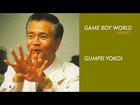 Game Boy World Bonus Episode #01: Gunpei Yokoi