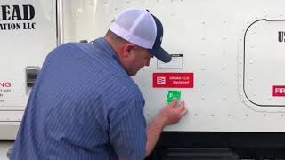 How to properly install IFTA Stickers , not the lazy way out thumbnail