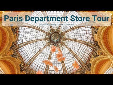Top Department Stores In Paris