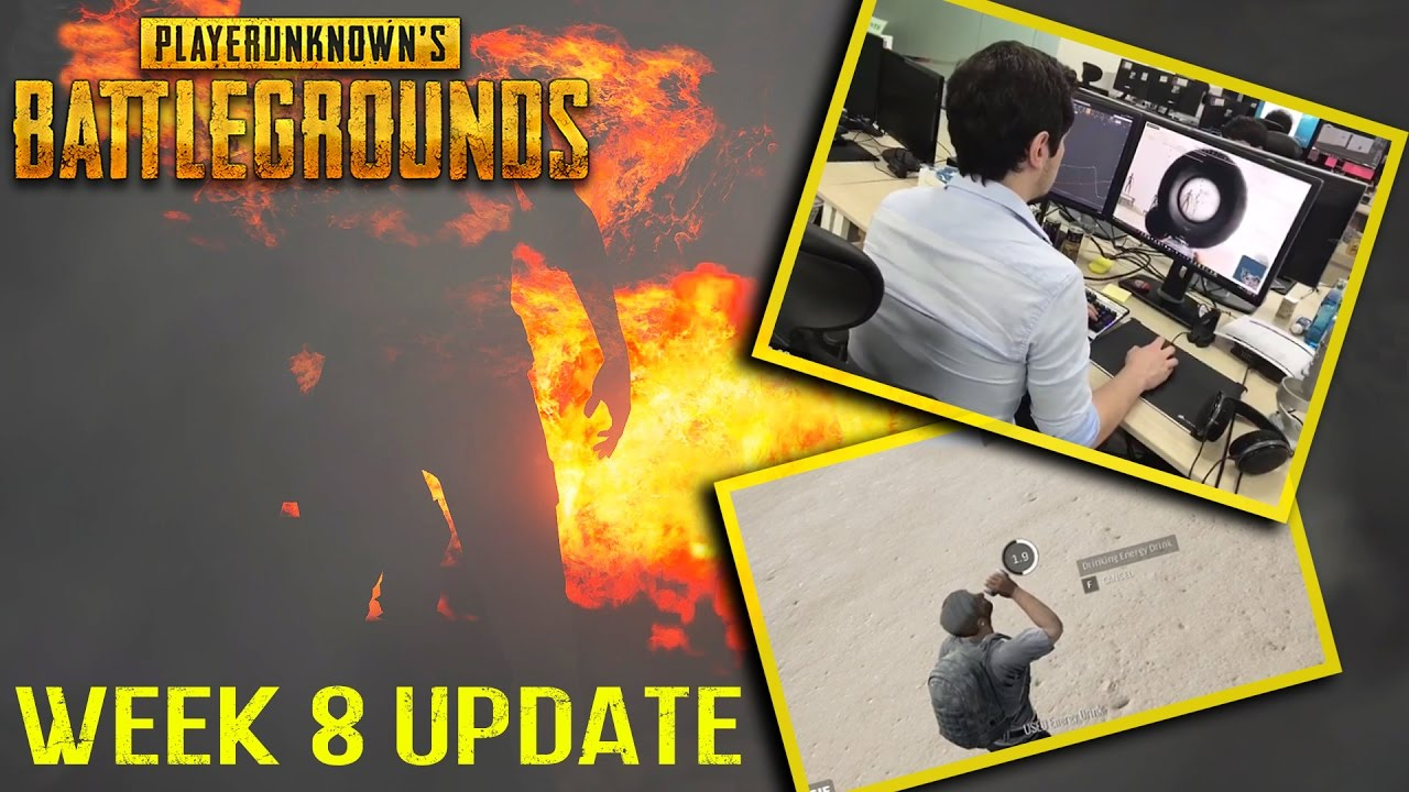 2 New Weapons Coming To Playerunknown S Battlegrounds: Week 8 Patch Notes & New Weapon, Animation Coming
