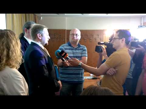 TV Liberland, Press Conference 4.6.2015 Prague - Interview for Czech media