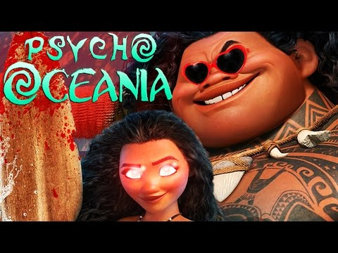 Moana YTP - Psycho Oceania!