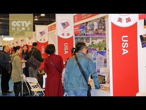 China Education Expo: More Chinese students studying abroad