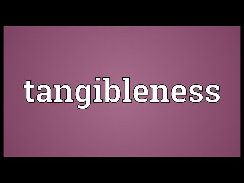 Header of tangibleness