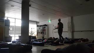 Relaxing Breathwork Warm Up in Yin Yoga at Soulful Fitness Lane Cove