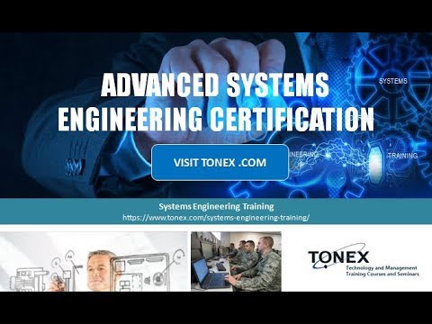 Advanced Systems Engineering Certification : Tonex Training - YouTube