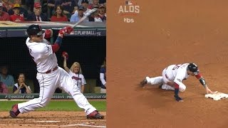 BOS@CLE Gm1: Perez shines on both sides of dish
