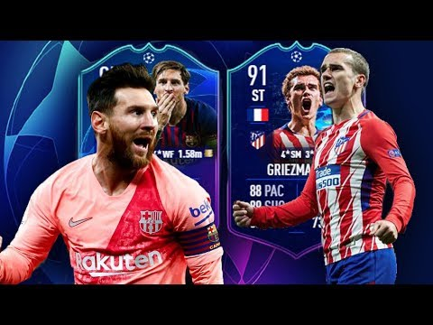 FUTDRAFT CHAMPIONS LEAGUE DE OCTAVOS DE FINAL - FIFA 19 thumbnail