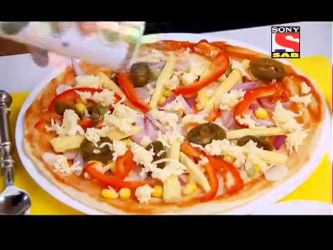 Jo Biwi Se Kare Pyaar - Episode 4 - Cottage cheese Creamy pizza - 31st October 2013