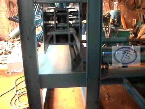 Yingfeng full automatic brick Logo press machine