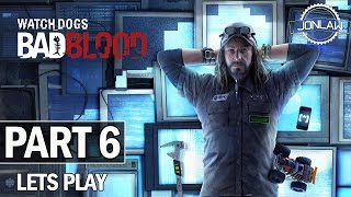 Watch Dogs Bad Blood Walkthrough Part 6 SNIPER - Let's Play Gameplay