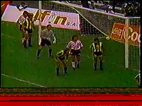 Inauguracion estadio Monumental y goles 1989