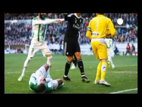 Ronaldo banned for two matches for kicking opponent
