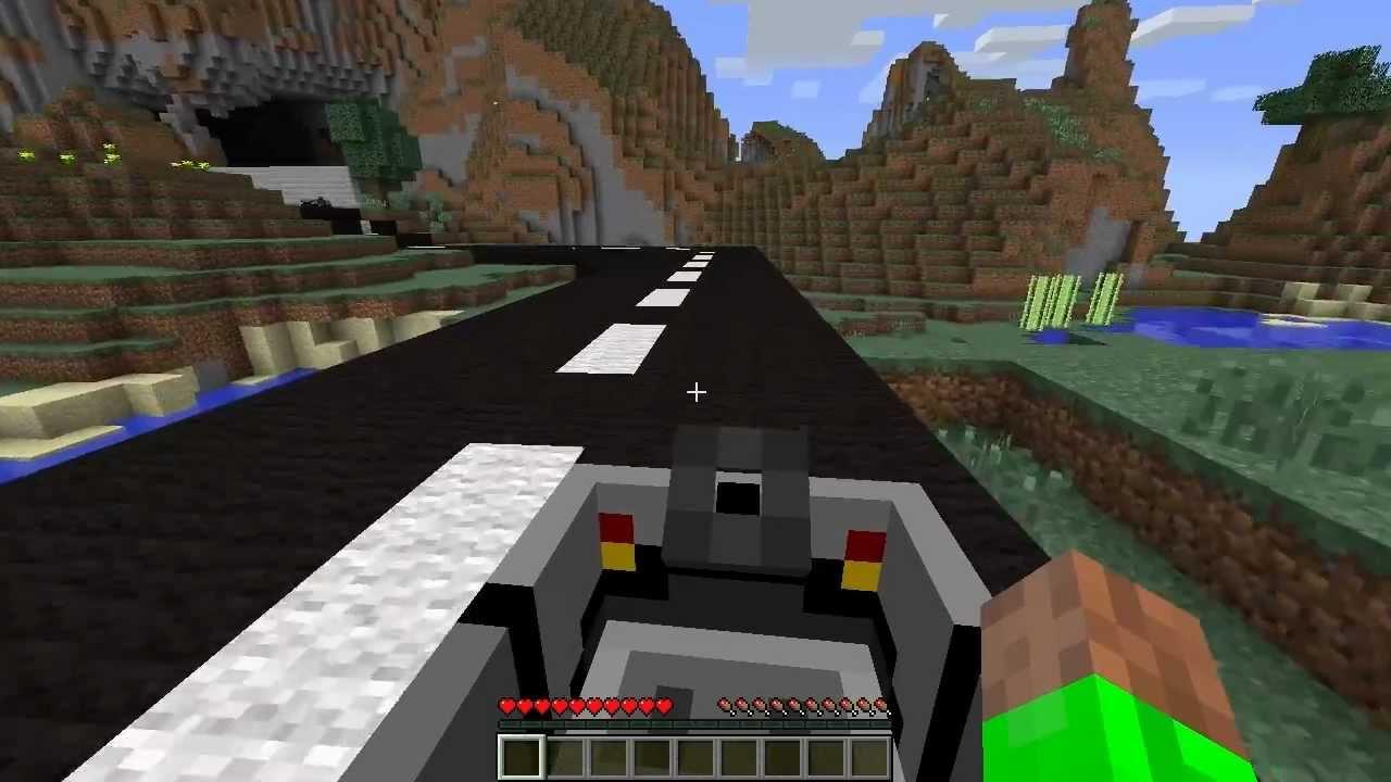 Minecraft AUTO CRAFTEN Car Mod YouTube - Minecraft spiele mit autos