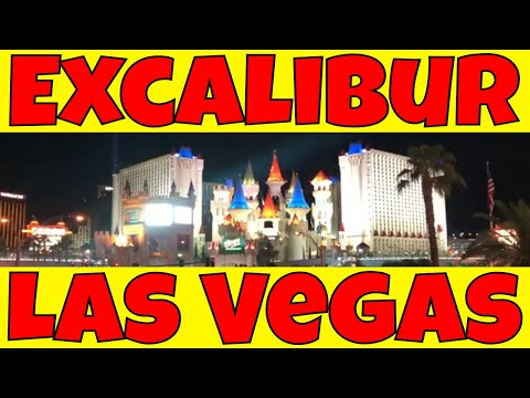 Excalibur Hotel Las Vegas Fun At The Pool And Dungeon | Tour Excalibur Hotel Las Vegas