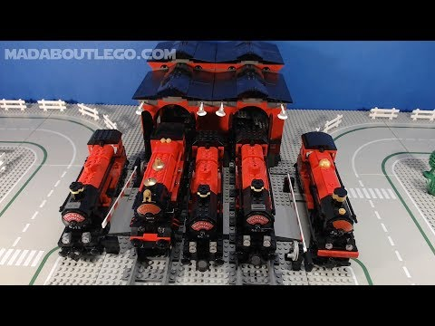 LEGO TRAINS. All Hogwarts Express Trains.