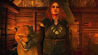 The Witcher 3 Blood and Wine: Witch of Lynx Crag Boss Fight (4K 60fps)