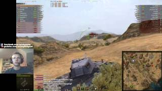QuickyBaby: E-75 with EPIC flying arty air-shot!